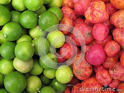 Fresh Red Potatoes and lemons