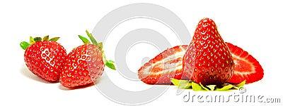 Fresh Red Strawberry Sampler
