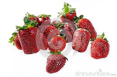 Fresh Ripe Perfect Strawberries