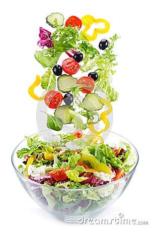 Free Fresh Salad Royalty Free Stock Photo - 22327955