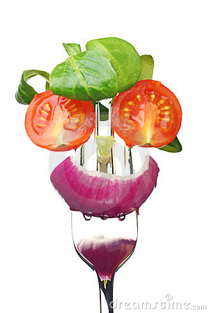 Free Fresh Salad Face Royalty Free Stock Photography - 6997817