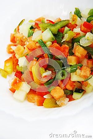 Free Fresh Salad - Pepper Mix Royalty Free Stock Photos - 7984598