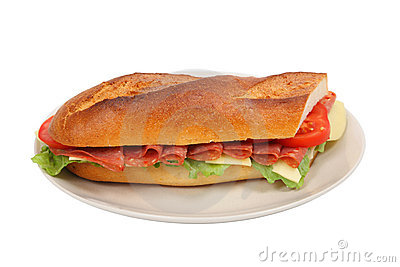 Fresh Sandwich Stock Image - Image: 15975041