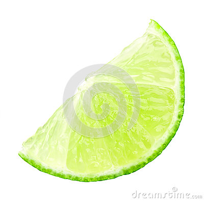 Free Fresh Slice Of Lime Stock Photography - 30261432