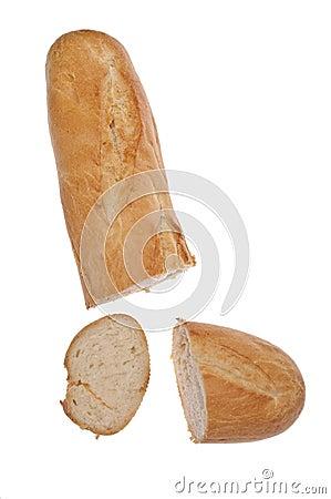 Fresh Sliced Loaf of Bread