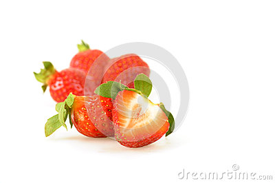 Fresh Sliced Strawberry