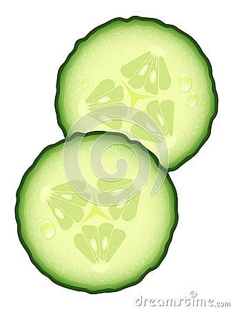 fresh slices of cucumber stock image image 20956101