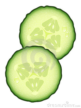 Free Fresh Slices Of Cucumber Stock Image - 20956101
