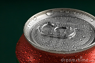 Fresh Soda Drink in Can