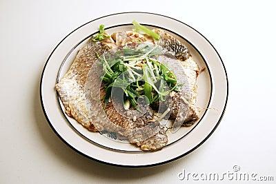 Fresh steamed fish