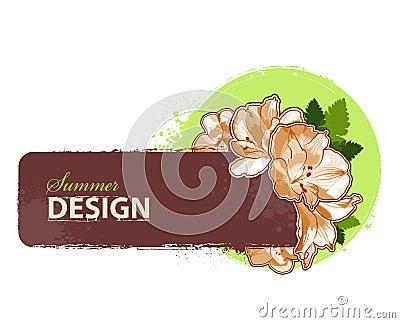 Fresh summer design