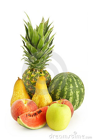 Fresh Summer Fruit Stock Photo - Image: 15142880