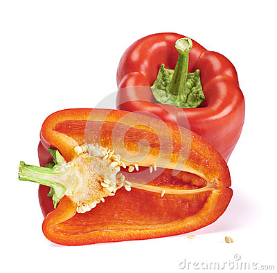 Fresh sweet pepper