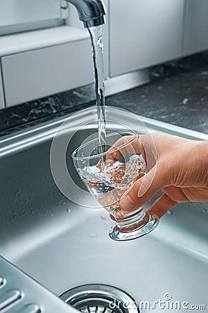 Free Fresh Tap Water Stock Photos - 18679103