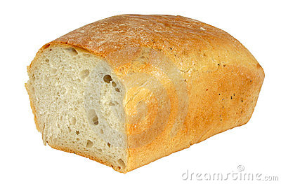 Fresh tasty bread - isolated