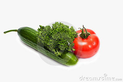 Fresh tasty vegetables