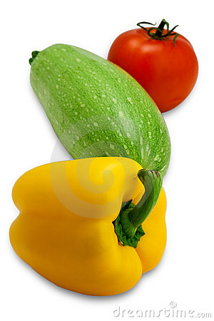 Fresh tasty vegetables (with clipping path)