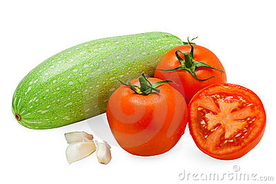 Fresh Tasty Vegetables Isolated On White Royalty Free Stock Images - Image: 11488219