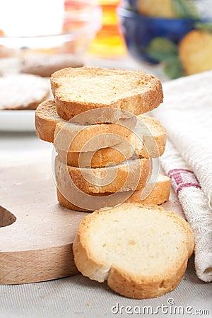 Fresh toasts