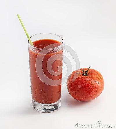 Free Fresh Tomato Juice Stock Image - 16238581