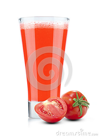 Free Fresh Tomato Juice Royalty Free Stock Photography - 29022287
