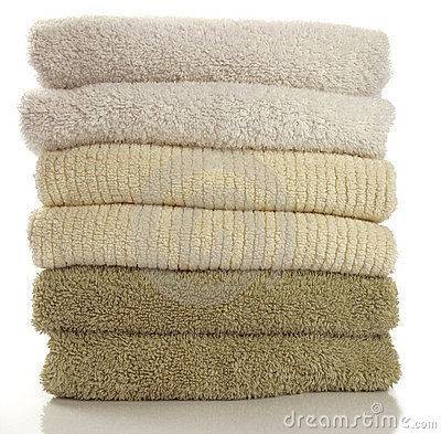 Fresh towels