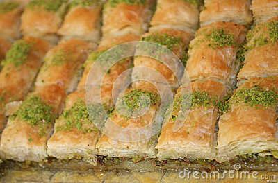 Caloric Turkish Cake Baclava