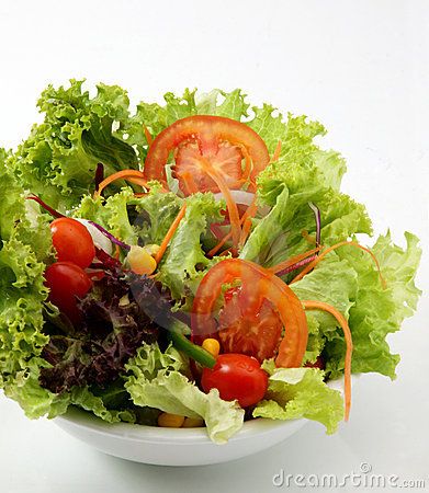 Free Fresh Vegetable Salad Royalty Free Stock Photos - 14066208