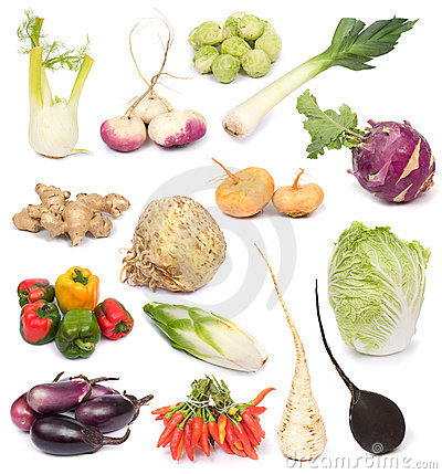 Free Fresh Vegetables Stock Photography - 3527242