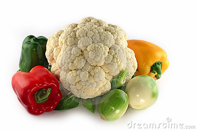 Fresh vegetables composition