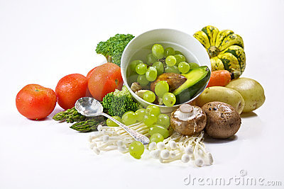 Fresh vegetables and Fruit - Organic & Healthy