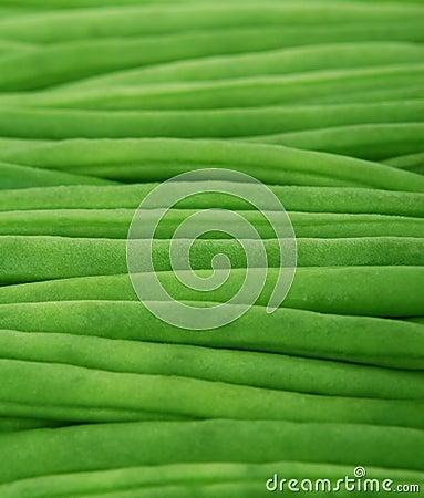 Fresh vegetables - green beans
