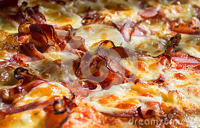 Fresh and very tasty pizza