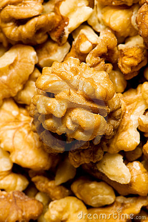 fresh walnut nuts