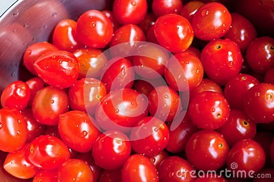 Fresh Washed Cherry Tomatoes