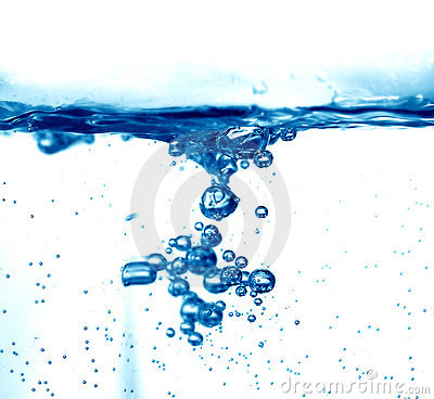 Fresh water splash background