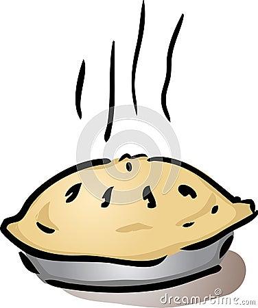 Fresh whole pie
