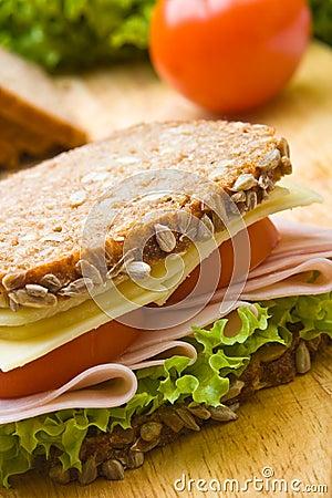 Free Fresh Wholemeal Sandwich Royalty Free Stock Photo - 6816025