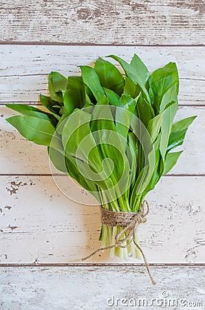 Free Fresh Wild Garlic Royalty Free Stock Photo - 113380835