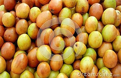 Fresh Yellow Jujube Berries