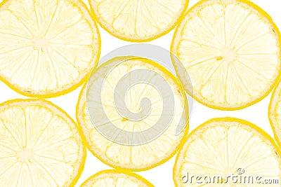 Fresh yellow lemon background