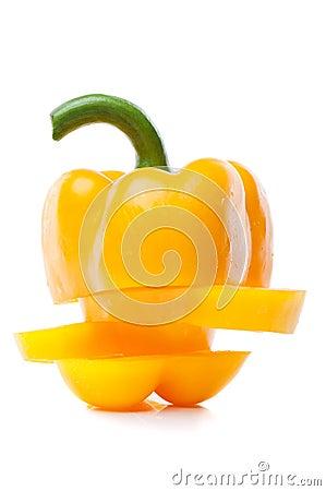 Free Fresh Yellow Pepper Stock Image - 22688311