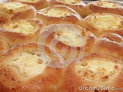 Freshly baked curd tarts-2