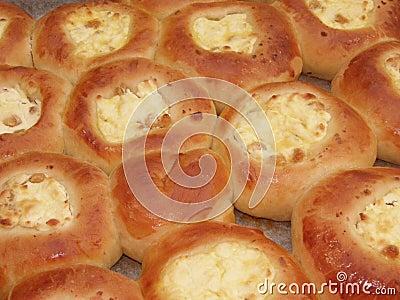 Freshly baked curd tarts-3
