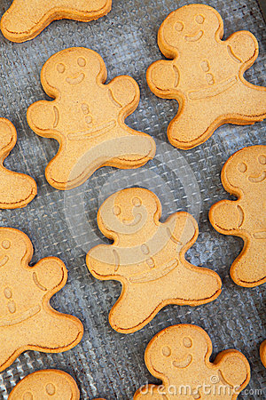 Freshly Baked Gingerbread Men