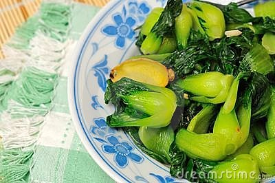 Freshly cooked vegetarian delicacy