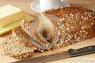 Freshly homemade bread