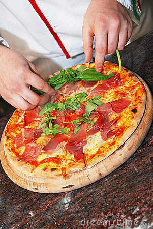 Free Freshly Made Pizza Stock Image - 2506921