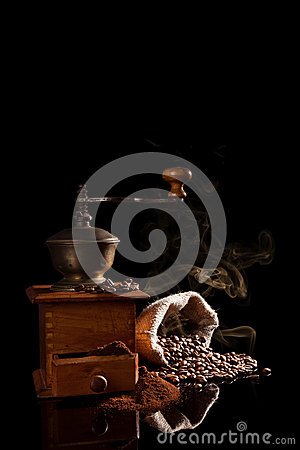 Free Freshly Roasted Coffee. Royalty Free Stock Photography - 30306937