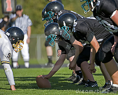 Freshman American Football Editorial Stock Photo